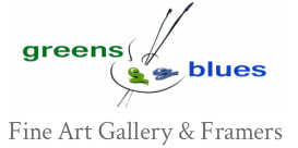 Greens & Blues Fine Art Gallery